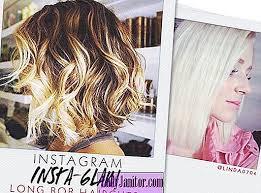 Instagram Insta Glam Dlouhé Bob účesy Krása Srpen 2019