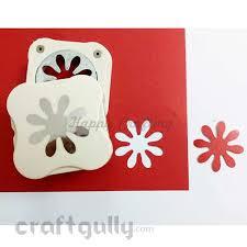 4 Petal Flower Paper Punch Punch Craft
