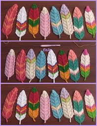 feather patterns crochet feathers free patterns tutorials video