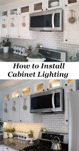 lighting for cabinets. how to install kitchen cabinet lighting for cabinets v