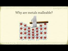 malleability chemistry. metals are malleable. | aqa c2 pinterest aqa, aqa chemistry and malleability
