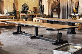 retro industrial furniture. Post Industrial Conference Table Retro Furniture T