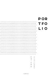 Cover Page For Portfolio Portfolio Cover Template