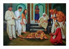 Image result for images of tiger samadhi in shirdi