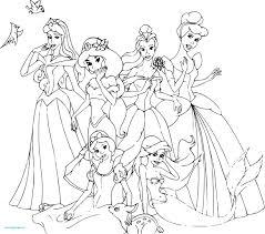 Coloriage Princesse Disney Cendrillon Excellent Galerie Coloriage