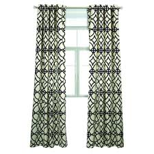 Navy And White Curtains Lr Resources Semi Opaque Harlequin Navy Blue Cotton And Polyester