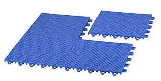 interlocking plastic floor tiles. Plain Tiles EZFloor 12 Pack Of Interlocking Plastic Floor Tiles Blue Intended Tiles F