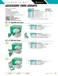 Greenlee Tools Catalog Pages 151 200 Text Version