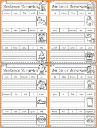 These worksheets are all about cvc words so they will get ample reading practice. Phonics Sentence Scrambles For Kindergarten And First Grade Worksheets Preschool Learn English Words Passages Workbooks Kids Aliexpress
