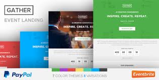 Page Design Templates Event Landing Page Templates Best Of Best Handpicked
