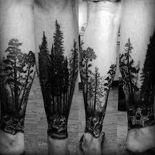 40 Nápady Na Tetování Na Noze Stromů Pro Muže Zakořeněný Inkoust