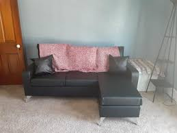 mobilis bonded leather sectional sofa