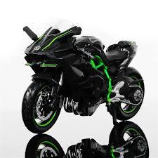 online shop 1 18 scale maisto kawasaki ninja h2r motorbike race