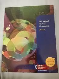 Access Financial Management Bfw2341 International Financial Management Spartext