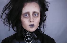 edward scissorhands 15 diy inspired makeup inspirations for