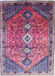 orange yalameh rug and carpet handknotted in yalameh iran