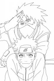 Small Picture 53 best Coloriage naruto images on Pinterest Drawings Coloring
