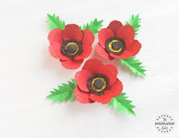 poppy template poppy flower with poppy craft template the inspiration edit