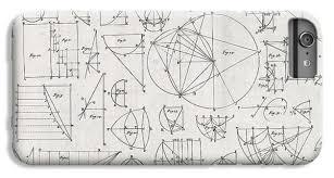 Graph Paper Iphone 6 Plus Cases Fine Art America