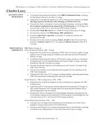 News Reporter Resume Example Television Click For Full Producer Job