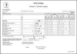 Progress Sheet Template Student progress report template form for students monthly format 1