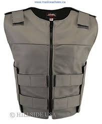womens made in usa zippered tactical style leather motorcycle vest all colors on fashion ttlcn clearance district laudatory acdlnqsu16