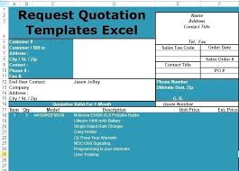 Free Quotation Templates Best Free Request For Quotation Template Excel Quote Wordsmithservicesco