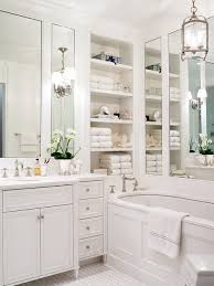Master Bath Design Ideas small elegant master bathroom photo in new york with an undermount sink white cabinets