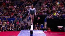 vault gymnastics gabby douglas. Gabby Douglas Scores 14.550 On Balance Beam In Secret Classic Vault Gymnastics