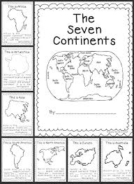 Continents-and-oceans-worksheet- & Print Identifying The ...