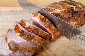 grill roasted pork loin