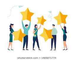 Vector Illustration Customer Reviews Rating Different Stock Vector (Royalty  Free) 1465871774