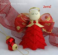 No Sew Quilted Angel Ornament Kit and Instructions - Jewel ... & No Sew Quilted Angel Ornament Kit and Instructions - Jewel Adamdwight.com