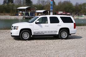 GeigerCars makes the Chevy Tahoe Hybrid even greener