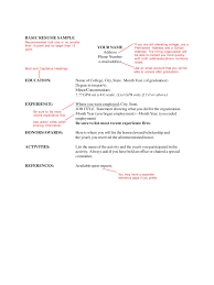 2018 Basic Resume Template Fillable Printable Pdf Forms