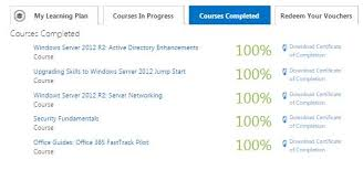 Microsoft Free Certification Free Training Certificate From Microsoft Virtual Academy