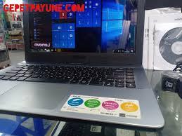 Harga asus x441uv dan spesifikasi | quick spec: Asus X441s Intel N3060 Fullset Mulus Murah Aja Jual Beli Laptop Semarang Dan Sekitarnya Cp Computer