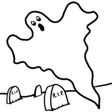 Small Picture Free Printable Ghost Coloring Pages For Kids