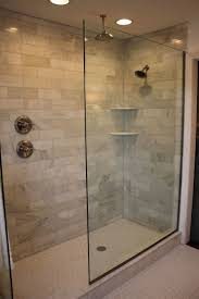 walk in showers for small bathrooms 2. Doorless Walk In Shower Designs. Handle On Separate Wall Large Size Showers For Small Bathrooms 2 S