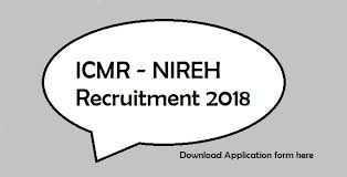 icmr nireh recruitment