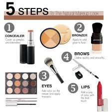 5 steps to the natural makeup look