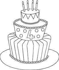 How To Draw A Cartoon Birthday Cake Johnsimpkinscom