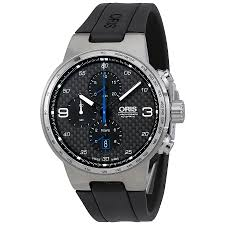 oris williams chronograph black carbon fiber automatic men s watch oris williams chronograph black carbon fiber automatic men s watch 774 7717 4164rs