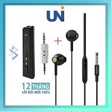 Tai Nghe Có Dây Earldom M37 Kèm Thiết Bị Thu Bluetooth Và Microphone Chân  3.5mm Cho Điện Thoại Iphone Sam Sung Oppo chính hãng