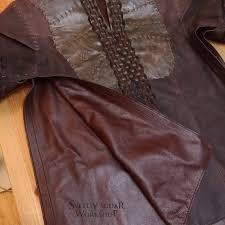 inspired ragnar lothbrok leather jacket custom size viking image 6