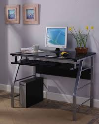 home office computer workstation. amazoncom kingu0027s brand 2950 glass and metal home office computer workstation desktable silver finish kitchen u0026 dining e