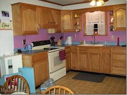 Perfect Painting Oak Kitchen Cabinets White And Cupboards Intended Decor