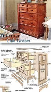 Oak Dresser Plans   Furniture Plans And Projects | WoodArchivist.com