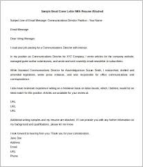 resume email sample resume cv cover letter. sample email cover ...