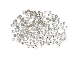 swarovski 3188 3mm xirius lochrose crystal sequin crystal ab bulk pack 200